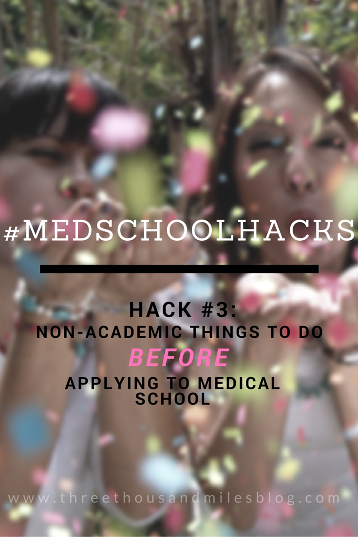 MED SCHOOL HACKS #3