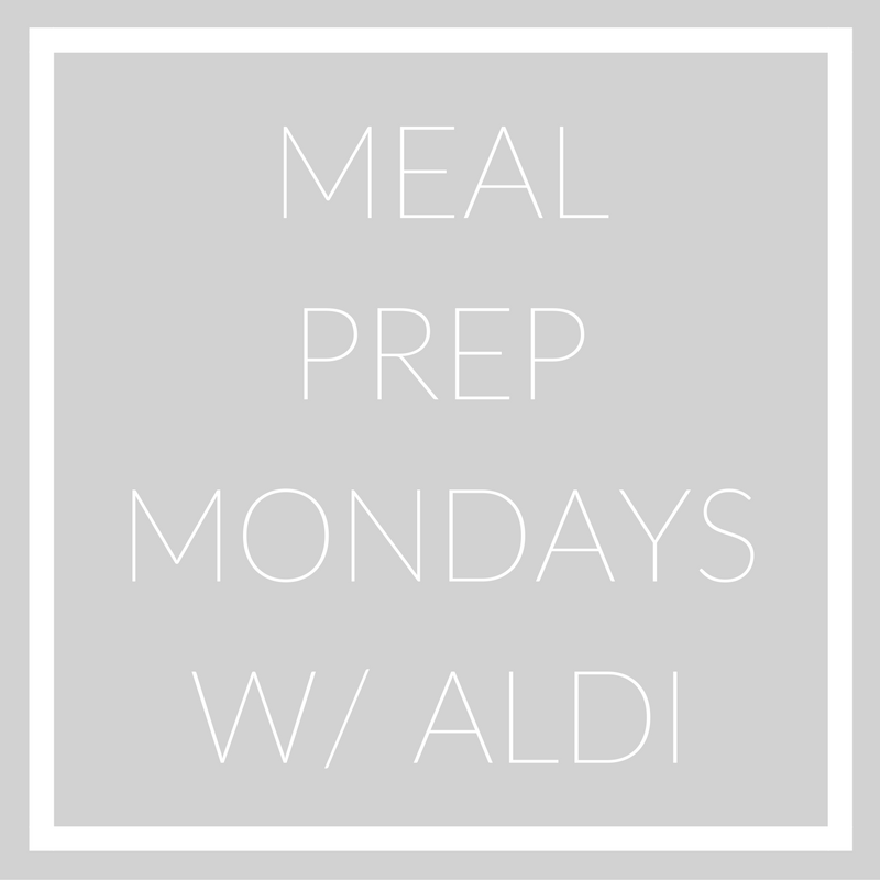 meal prep with aldi