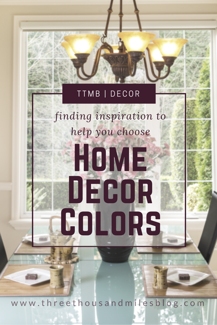 Choosing Home Decor Colors