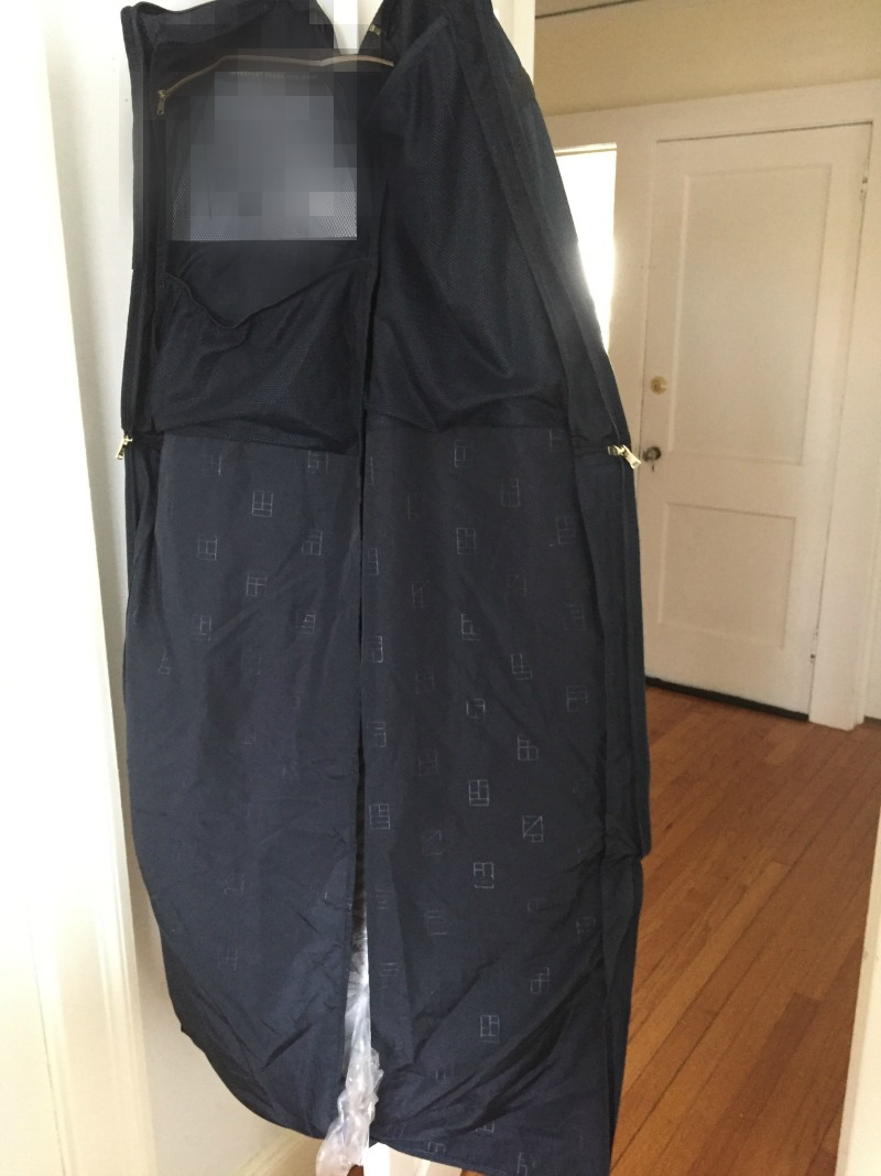 rent the runway garment bag