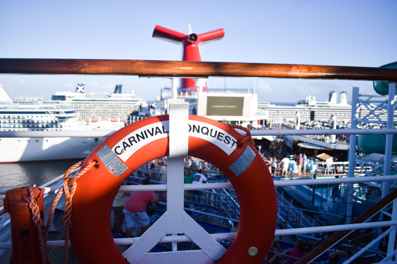 Carnival Conquest, Things to know before cruising