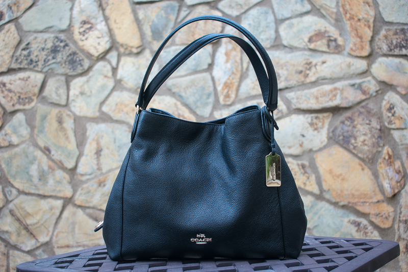Conference Style, Three Thousand Miles Blog, Trisha Therese, Coach Edie Bag Black-5