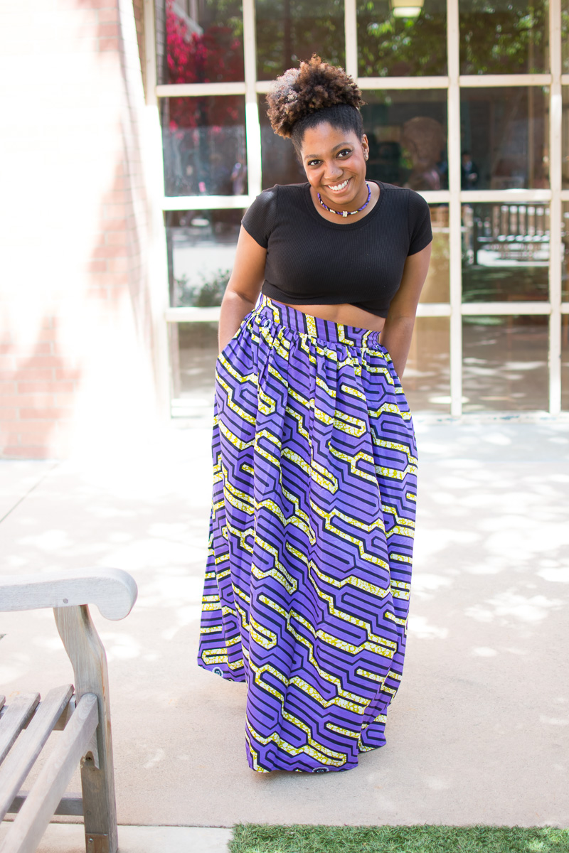 The Skirtsy Box Review, Three Thousand Miles Blog, African Print Skirts, Trisha Therese-4