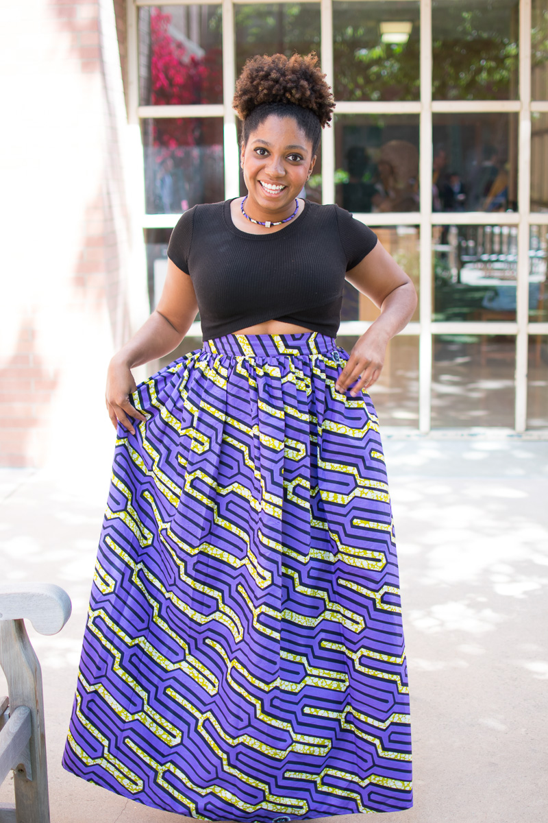 The Skirtsy Box Review, Three Thousand Miles Blog, African Print Skirts, Trisha Therese-5