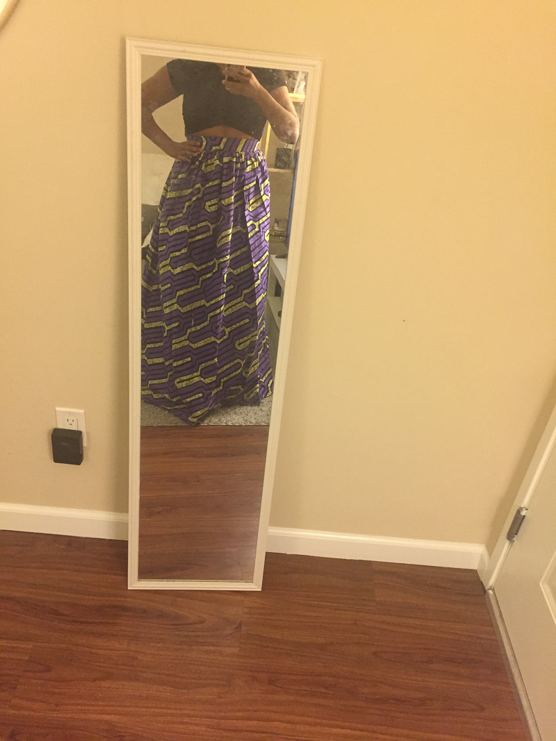 The Skirtsy Box Unboxing Review, Three Thousand Miles Blog, African Print Skirts-1-3