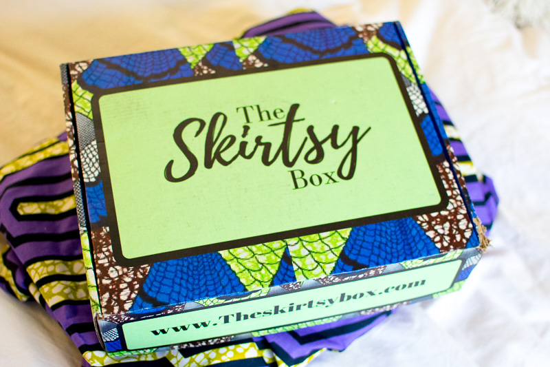 The Skirtsy Box Unboxing Review, Three Thousand Miles Blog, African Print Skirts-13