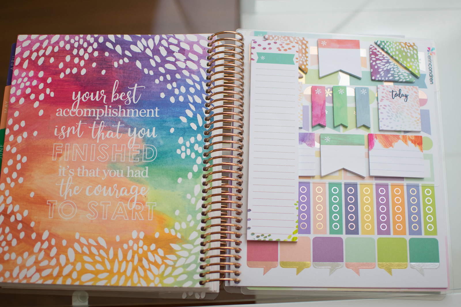 Erin Condren Life Planner 20172018 Review Three